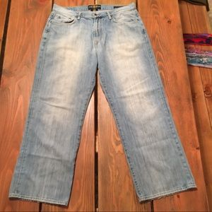 LUCKY Men's 181 straight leg, relaxed fit Sz 36x30